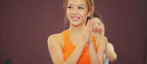 Hana Giang Anh chính thức trở thành hướng dẫn viên các lớp Group X tại Nclub Hà Nội