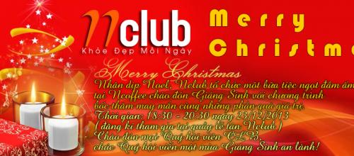 Sự kiện Nclub cùng hội viên đón giáng sinh 2014