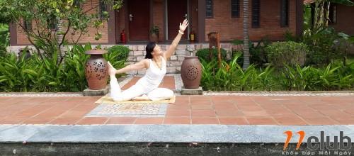 Một số hình ảnh của lớp Yoga Trip