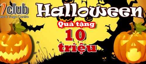 Sôi động Halloween, cơ hội nhận quà tặng trị giá 10 triệu